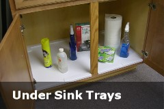 Under Sink Trays