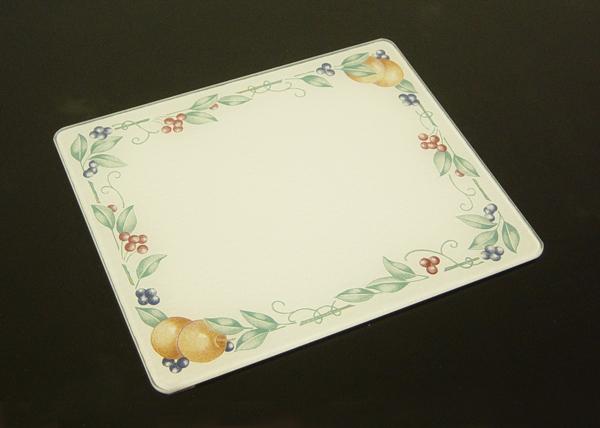 15 x 12 corelle abundance tempered glass cutting board - Decorative tempered glass cutting boards ...