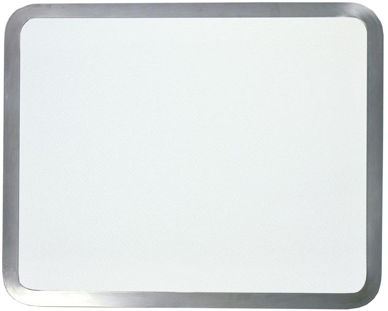 15 X 12 White Built-In Surface Saver with Stainless Steel Frame