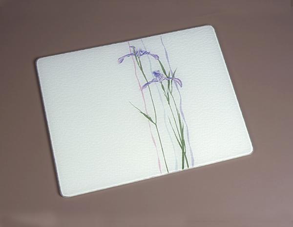 15 x 1 corelle shadow iris tempered glass cutting board - Decorative tempered glass cutting boards ...