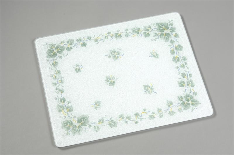 15 x 12 corelle callaway tempered glass cutting board - Decorative tempered glass cutting boards ...