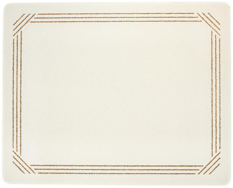 20 x 16 almond with brown border surface saver tempered glass cutting board - Decorative tempered glass cutting boards ...