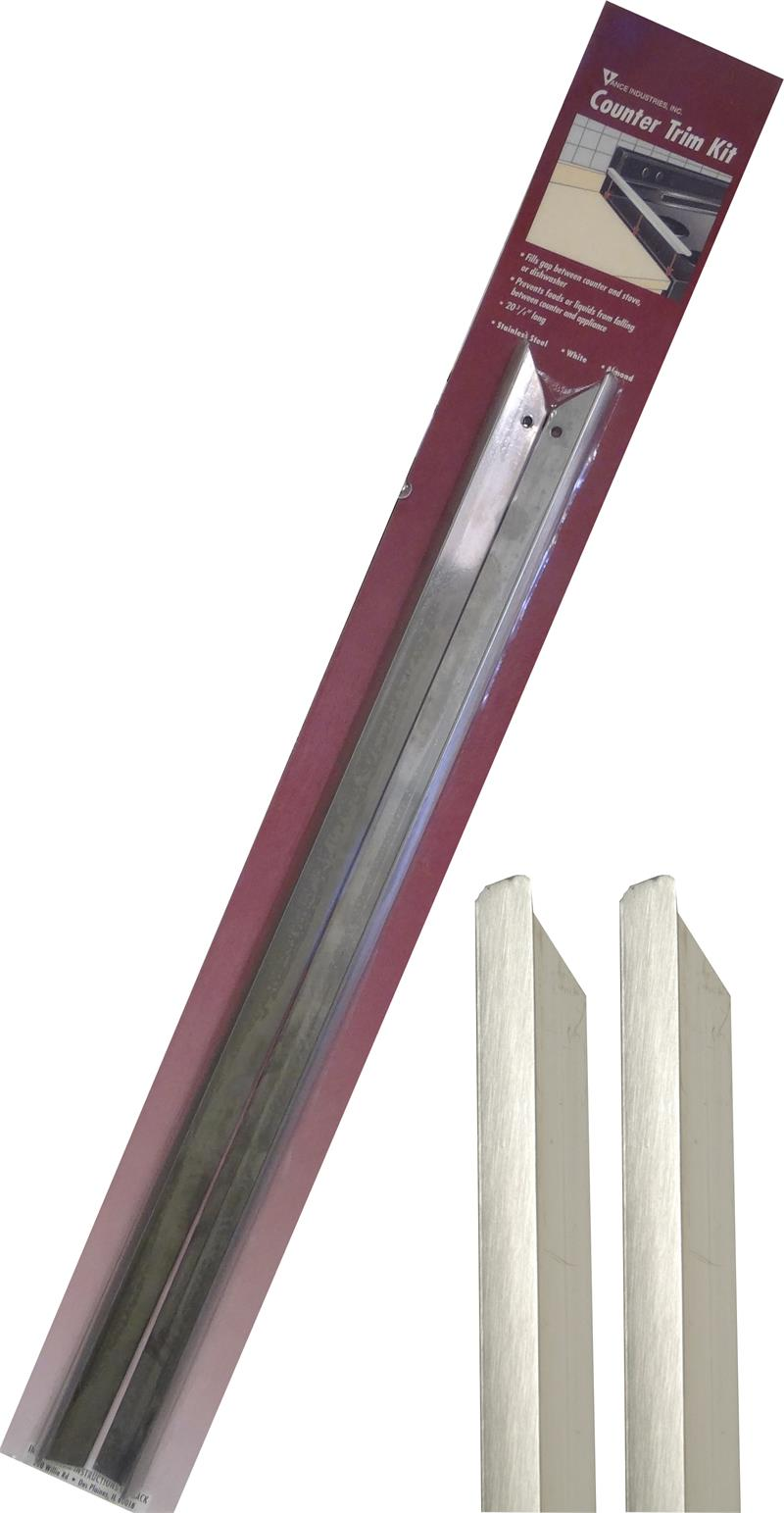 Vance Stainless Steel Counter Trim Kit 23 3 4 2 Pack