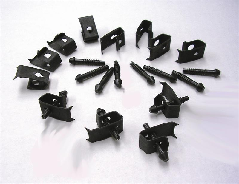 Undermount Sink Clips : Channel Sink Clips for Moen, Elkay Top Mount Sinks